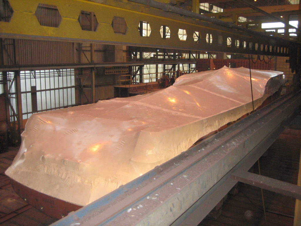 Boat shrink wrap