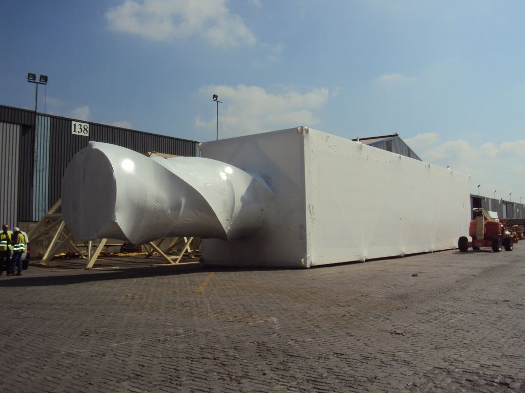 Cargo shrink wrap