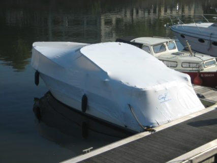 Shrink wrap for boats