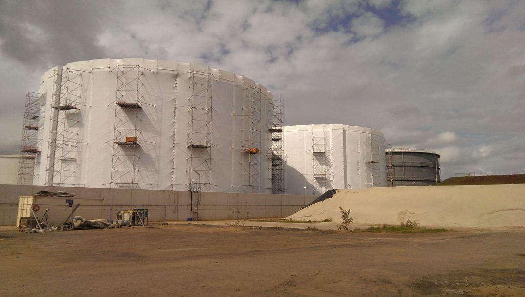 Industrial shrink wrap