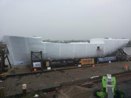 Shipyard wrapping
