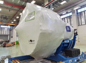 Aviation engine wrap
